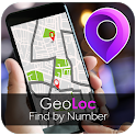 GeoLoc - Mobile Locator by Number icon