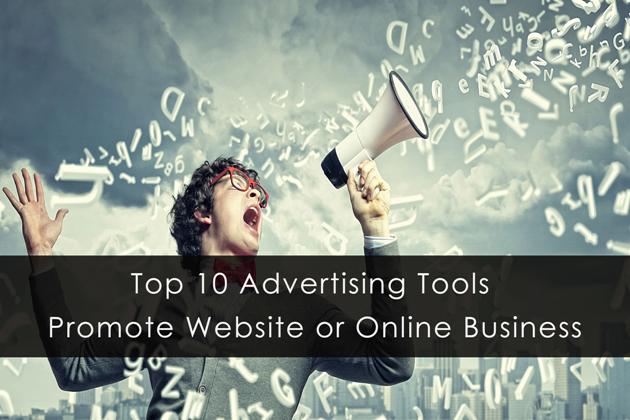 promote websites online business