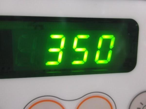 Preheat oven to 350ºF.