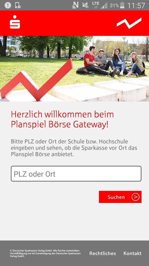 Planspiel Börse Gateway- screenshot