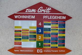 Photo: Die Orientierungstafel