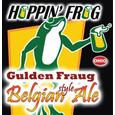 Logo of Hoppin' Frog Gulden Fraug Belgian Ale
