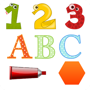French and English Numbers Letters Shapes Colors Android Apps on