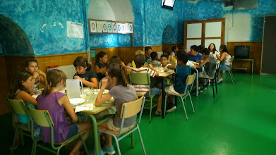 Photo: Primer dia 2on torn de menjador