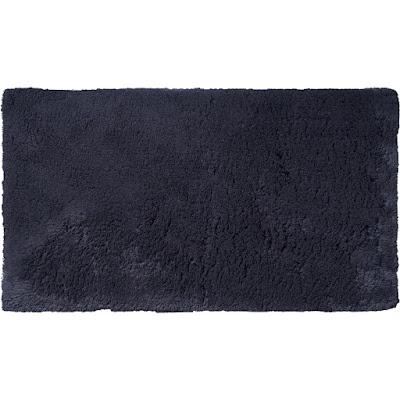Коврик для ванной Ridder Sheldon чёрный 60х100 см