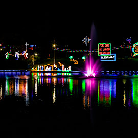 City of Lights. Natchitoches, La.  by Tiffany Matt - Public Holidays Christmas (  )