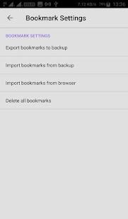 Universal Browser - náhled