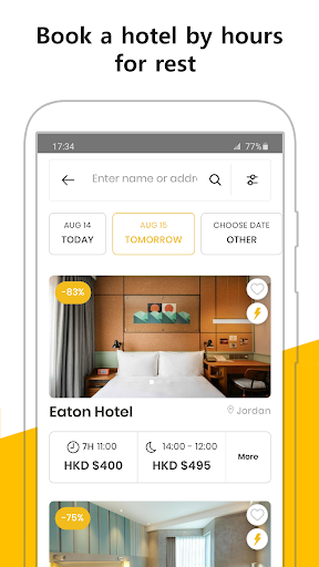 Flow: By-Hour Hotels, Workspace & Staycation Deals ss3