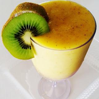 Mango Kiwi Banana Summer Smoothie.