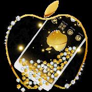 Golden Diamond Apple Gravity Theme