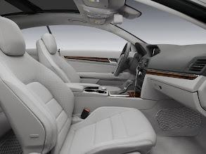 Photo: Two-tone Ash and Dark Grey E-Coupe interior appointment
