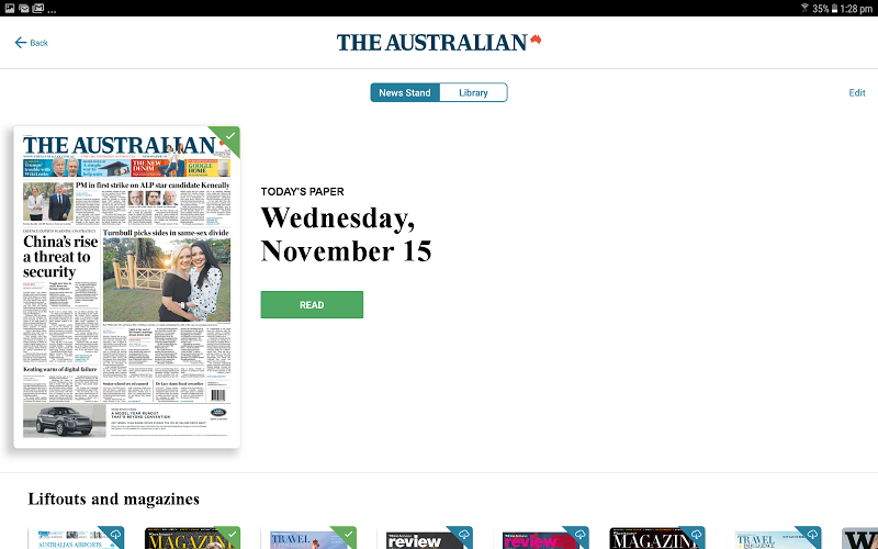 The Australian Screenshot 7