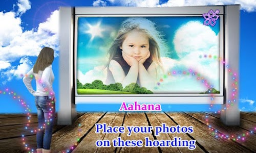 Hoarding photo frame effects screenshot 1