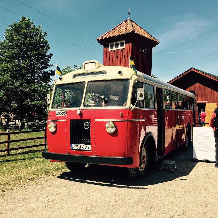 Linköpings an old bus