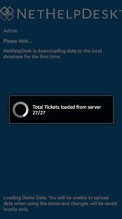 NetHelpDesk for Android - náhled
