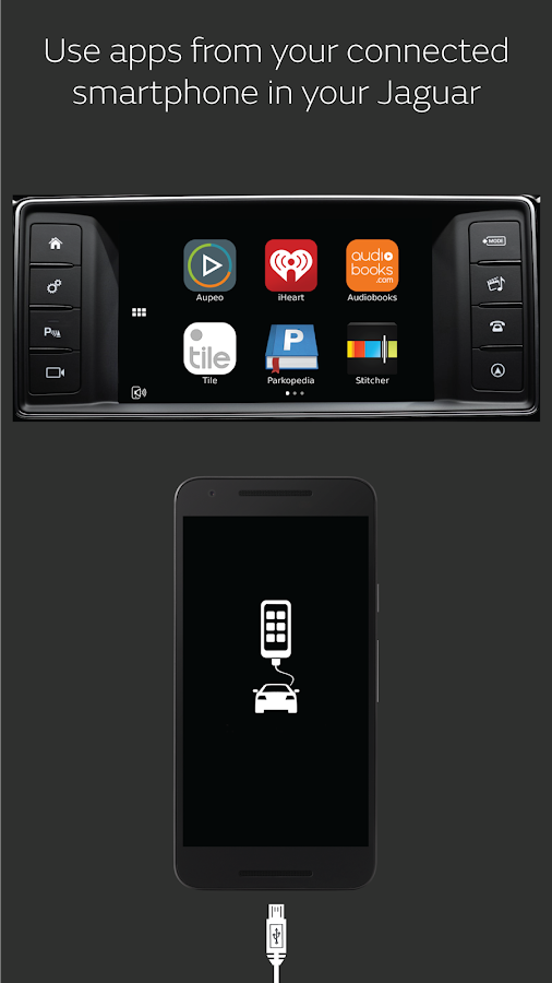 Jaguar InControl Apps- screenshot