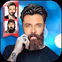 Beard Hair Styles Photo Editor icon