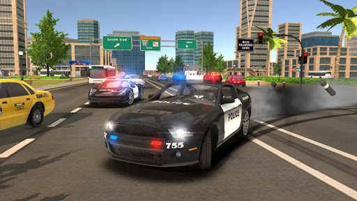 Police Drift Car Driving Simulator 1 screenshots 2
