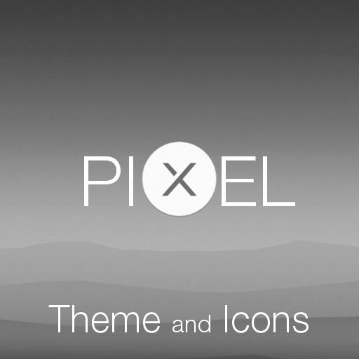 Pixel Black Theme