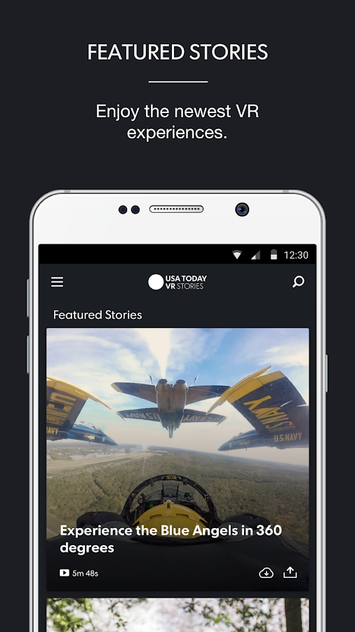 VR Stories by USA TODAY- screenshot