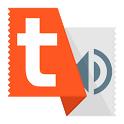 Talk Text (Read Aloud) Orange icon