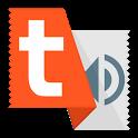 Talk Text (Read Aloud) Orange icon