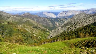 Photo: Al fondo el Valle de Teverga