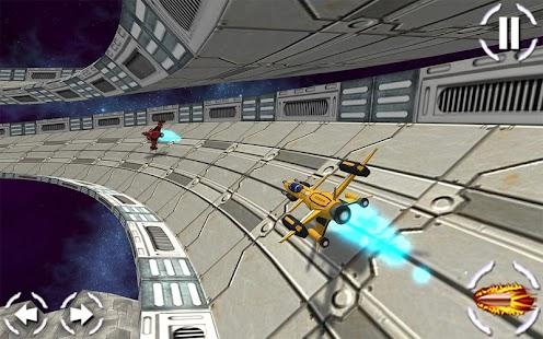 Letoun vesmírná střílečka - náhled