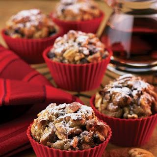 Apple Pecan French Toast Muffins