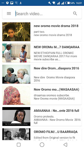 Oromo Music Video - Apps on Google Play