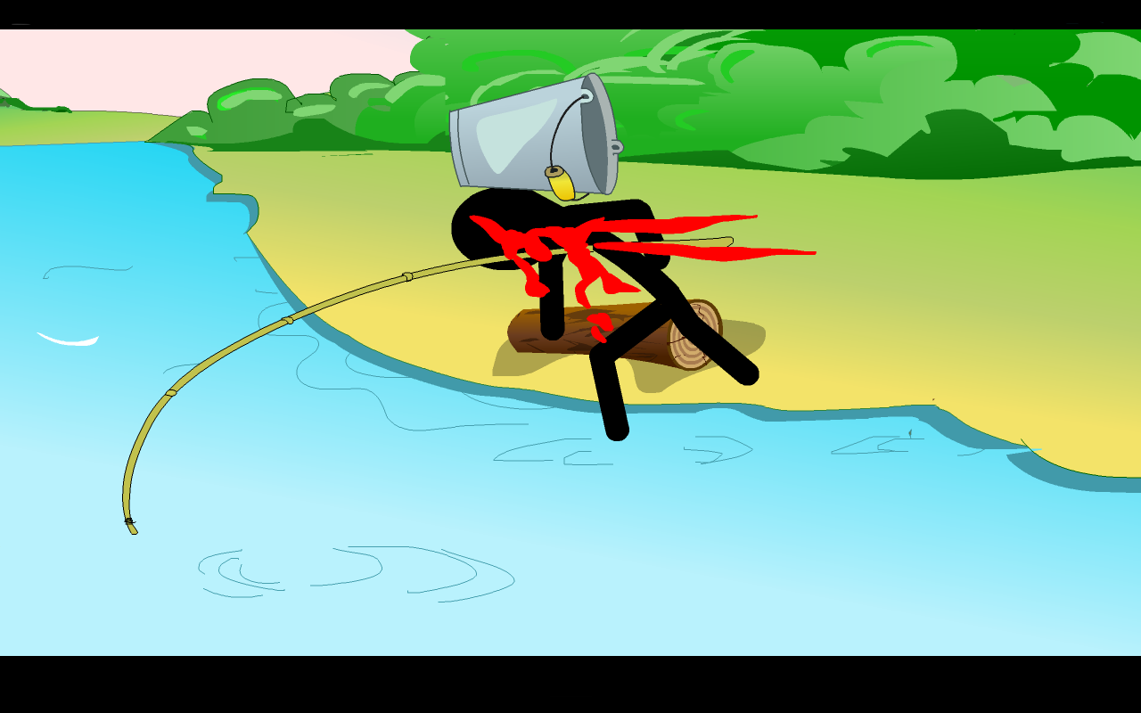 Stickman Mortal Fishing Apl Android Di Google Play