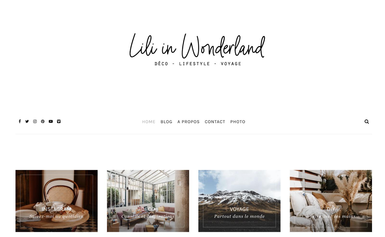 Blog de Lili in wonderland