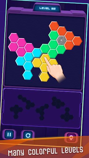 Hexa Puzzle screenshot 3
