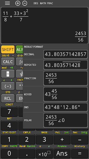 hp 35s fx Scientific Calculator 570 es plus free 4.0.8-23-06-2019-12-release screenshots 1