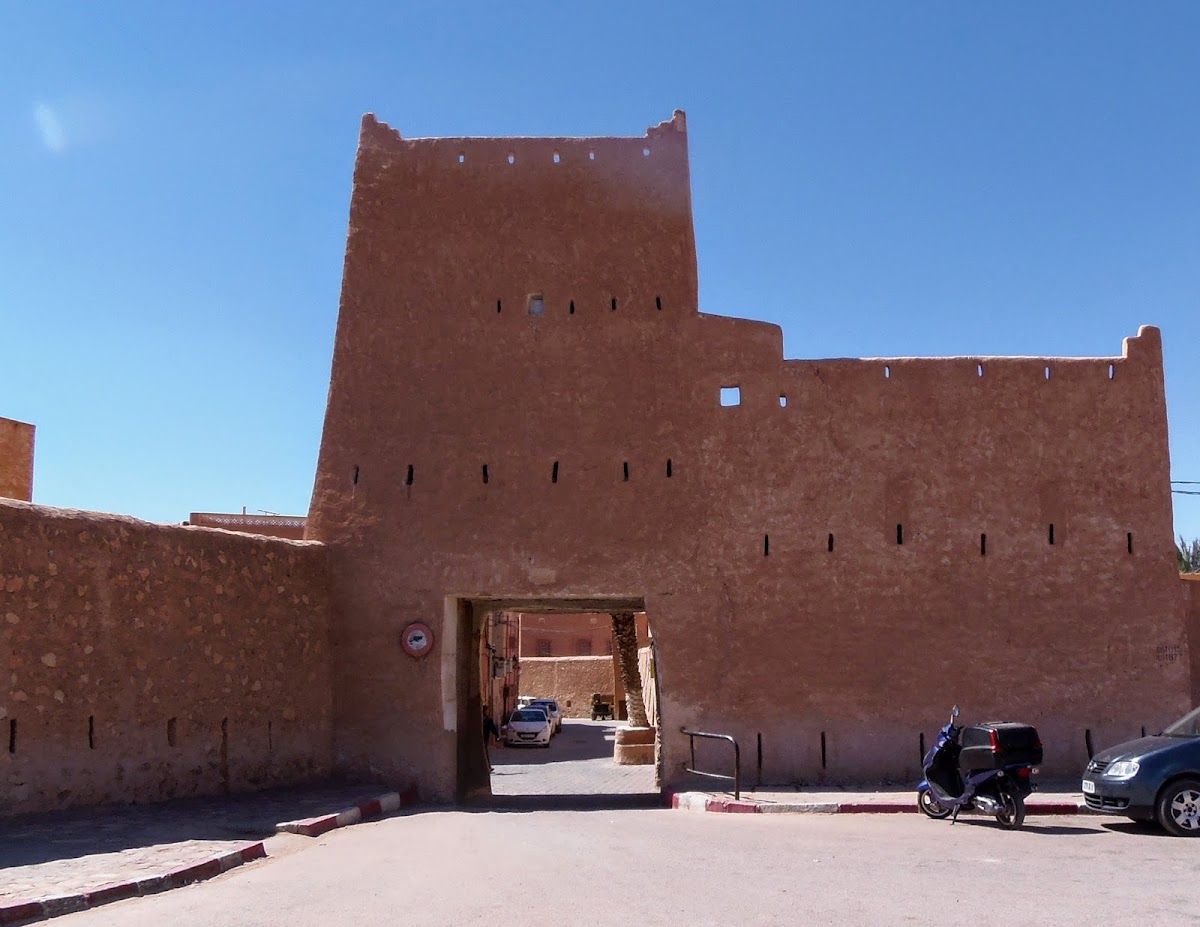 Ghardaïa - Entrance gante