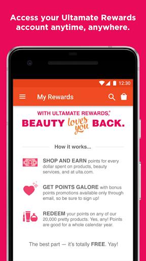 Ulta Beauty Screenshot