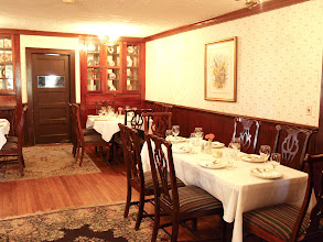 Photo: Rock House Dining Room Many of our brides will use The Rock House for their rehearsal dinner or the Rock House provides the perfect setting for smaller weddings