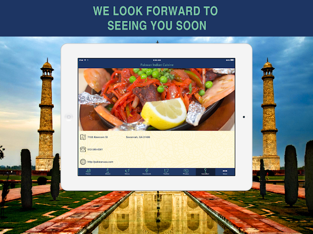 android Pakwan Indian Cuisine Screenshot 9