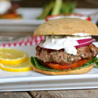 Greek Gyro Burger