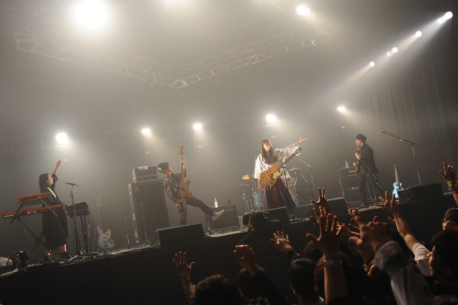【迷迷現場】COUNTDOWN JAPAN 18/19 緑黄色社会 出演最終日ASTRO STAGE