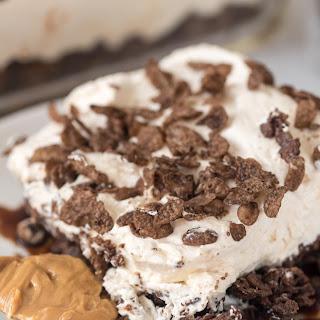 Peanut Butter Cocoa Pebbles No-Bake Dessert