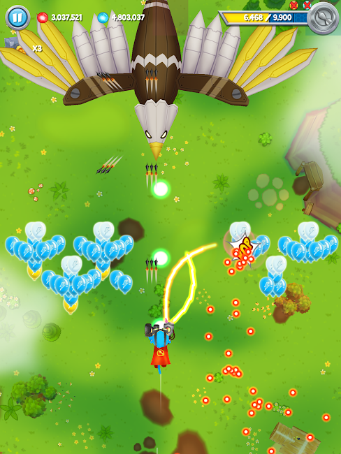 #5. Bloons Supermonkey 2 (Android)