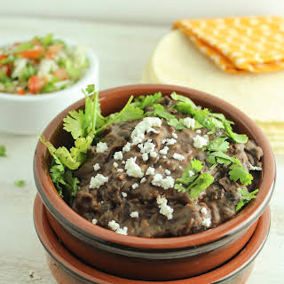 The Best Ever Refried Black Beans.