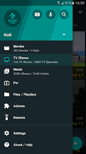 Yatse, the Kodi Remote – Vignette de la capture d'écran