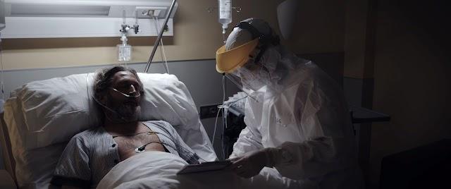Fotograma del cortometraje \'Marcianos\' del Director de cine almeriense, David del Águila.