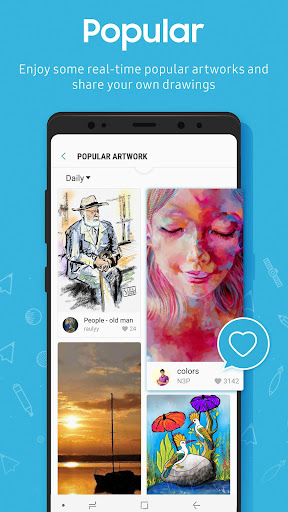 PENUP - Share your drawings 3.0.01.4 Screenshots 7