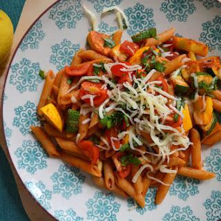 Zucchini and squash pasta/ Paste cu dovlecei.