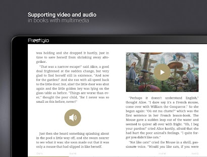 eReader Prestigio: Book Reader Screenshot