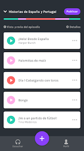 Anchor - Crea tu propio podcast Screenshot