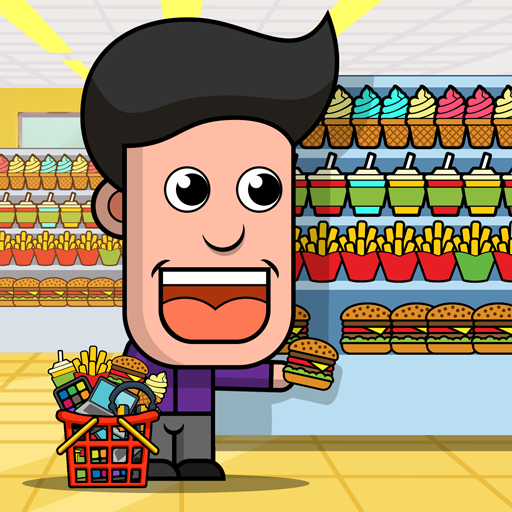 Idle Shopping Mall Empire: Compras de Supermercado